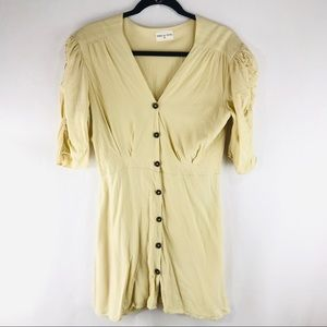 Yoli & Otis M/L Beige Jeanne Shirt Dress